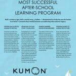 Kumon Poster 2